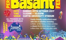 PERTH BASANT FESTIVAL (Free Entry)
