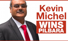 WA Labor's Kevin Michel (of Indian Heritage) turned out to be a Winner : Brendon Grylls concedes defeat in Pilbara (by: Avenewz Magazine, Australia)